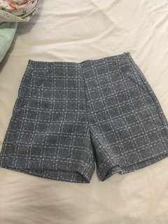 Free with purchases over $30 - New grey shorts with pockets labeled size s would also fit xs