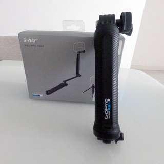 GoPro 3-Way camera grip arm tripod (Original)