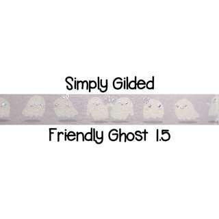 Simply Gilded Friendly Ghosts 1.5 Washi Tape Samples