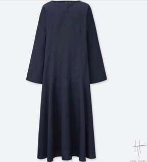 Uniqlo x Hana Tajima Long Sleeve Dress