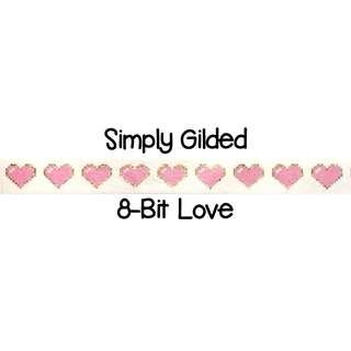 Simply Gilded 8-bit Love Washi Tape Samples