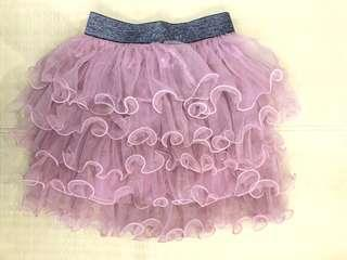 Ballerina Skirt with Frilly Tulle