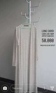 LONG CARDI H&M 50K