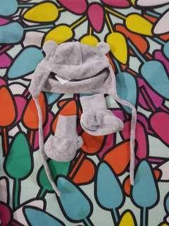 Newborn cap and booties