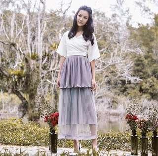 Ohvola Grey Skirt