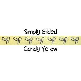 Simply Gilded Candy Yellow Washi Tape Samples