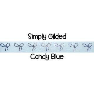 Simply Gilded Candy Blue Washi Tape Samples