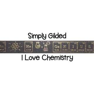 Simply Gilded I Love Chemistry Washi Tape Samples