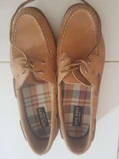 Sperry Top Sider Woman Size 40 Brown
