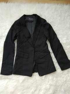 Preloved blazer hitam