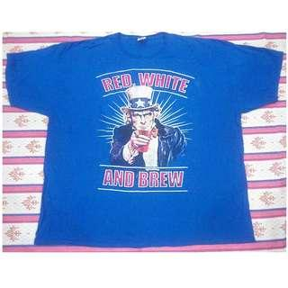 Big Size Uncle Sam Red,White and Brew