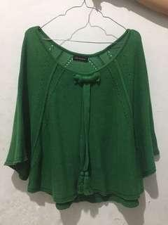 Knitted Green Blouse