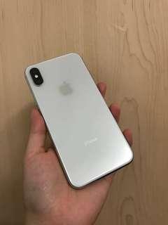 7月購入 iPhone x 256gb silver 98% new