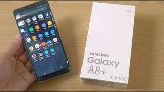 Yukk Kredit Samsung A8+ 2018 Tanpa Cc Proses cepat 3 menitan
