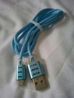 USB DATA CABLE lighted micro