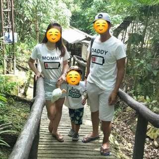 Battery Family Terno Shirt