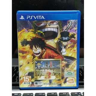 PS Vita One Piece 海賊無雙 3 中文版