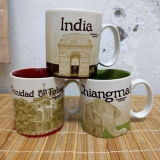 🚚 現貨 泰國 清邁 星巴克 城市杯 馬克杯 清邁 Starbucks city mug