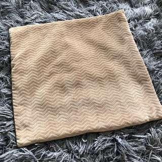 Soft Brown Cushion Cover