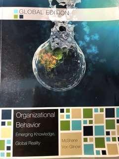 🚚 Organizational Behavior Global Edition 組織行為