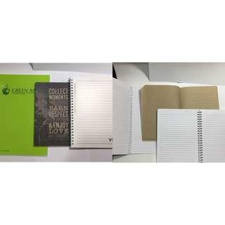 Notebooks green apple veco notebook