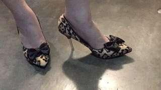 Leopard print animal print heels animal print shoes party shoes party heels office shoes