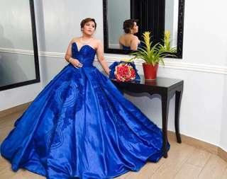 Ball gown wedding debut princess