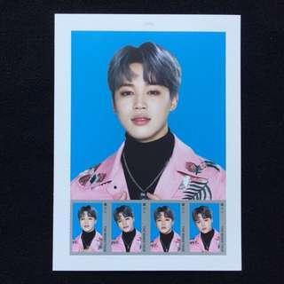🚚 🇰🇷官方限量🇰🇷郵票✨朴智旻 Jimin 防彈少年團 THE WINGS TOUR 2017 BTS 首爾場✨