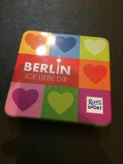 Ritter Sport Chocolate Tin Collectibles