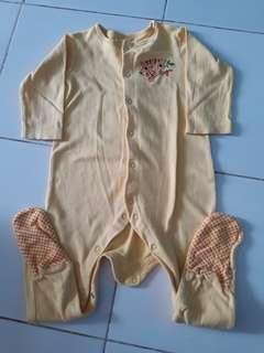 Sleepsuit mothercare original 9-12bulan