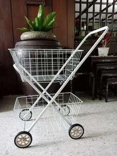 Metal Market Cart