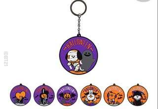 [PO] LIMITED EDITION BT21 HALLOWEEN KEY RINGS