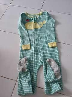 Sleepsuit carter 24bulan original
