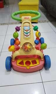 Fisher price little wagon to walker