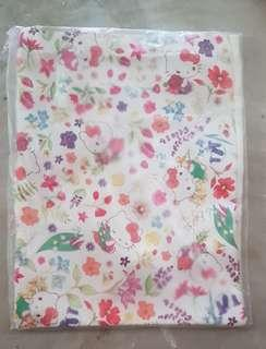 Crabtree & Evelyn Hello Kitty Exclusive Tote Bag (White Flowery)