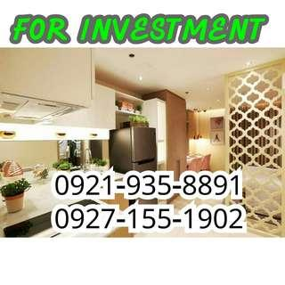 PRE-SELLING (FOR INVESTMENT) - RENT TO OWN CONDO @ COVENT GARDEN WITH 8% PROMO DISCOUNT 23sqm. STARTS AT 13K MO. NEAR SM.STA MESA, SAN JUAN, QUEZON CITY, MALABON