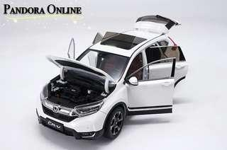 Honda CR-V CRV Car Model Diecast 1:18 Alloy Diecast SUV Car Model Toys Collection