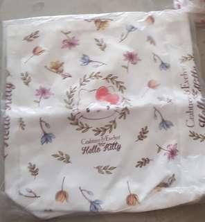 Crabtree & Evelyn Hello Kitty Tote Bag (Big)