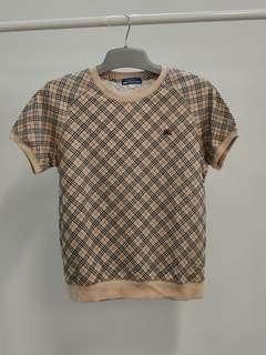 Burberry short sleeves classic sweater
