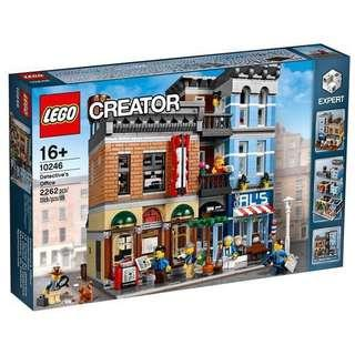 Lego Creator 10246 Detective's Office (Hard To Find)