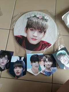 wonwoo big fan + cards