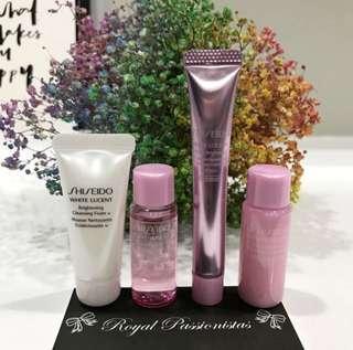 BN Shiseido White Lucent 4piece Travel Set