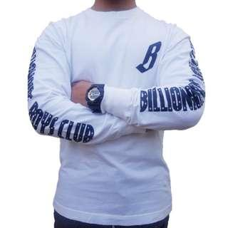 Billionaire Boys Club L/S White Tee