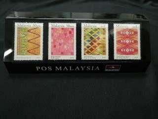 Collectors edition POS Malaysia stamp