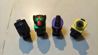 Kamen rider Fourze - switches