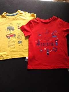 NEW Mothercare T-shirt Boy BNWT