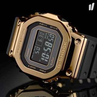 G-SHOCK by Kolor Gmw-b5000kl 35th Anniversary 700 Limited Edition Gold Japan