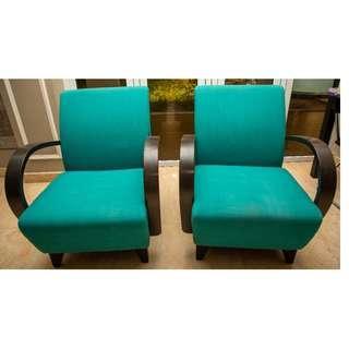 Modern Single Seater Sofa Set - Thamesa Brand (2units)