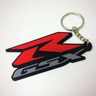 BN Suzuki GSXR Rubber Keychain