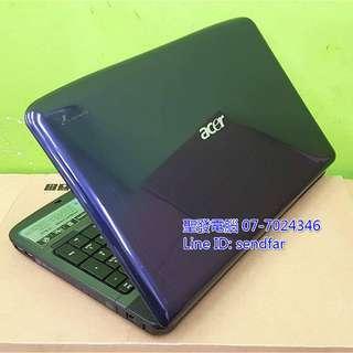 🚚 大螢幕追劇 ACER AS5738ZG T4400 4G 250G 獨顯 DVD 15吋筆電 聖發二手筆電